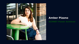 Headshot, Amber Pizano