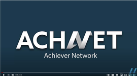 ACHNET Achiever network video thumbnail